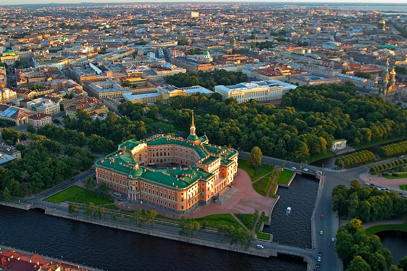 aerial-view-of-mikhailovsky-castle-in-st-petersburg